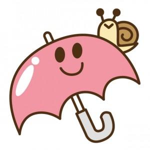 梅雨入り傘