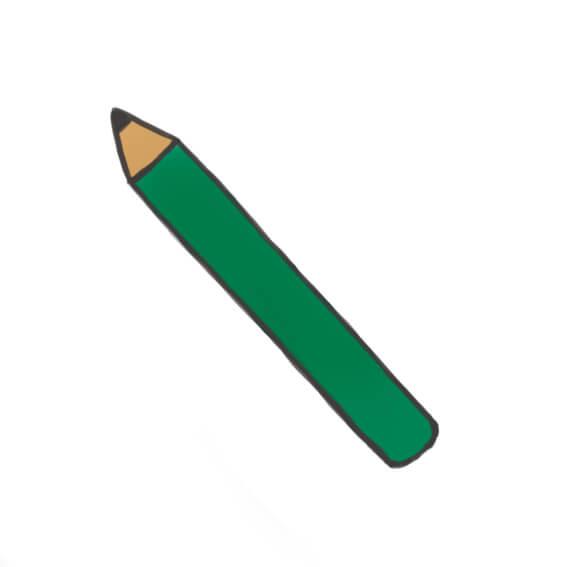 ワキガ 鉛筆