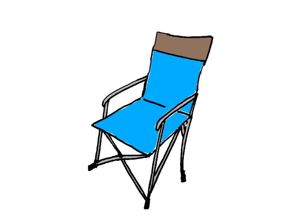 花見の持ち物折りたたみ椅子