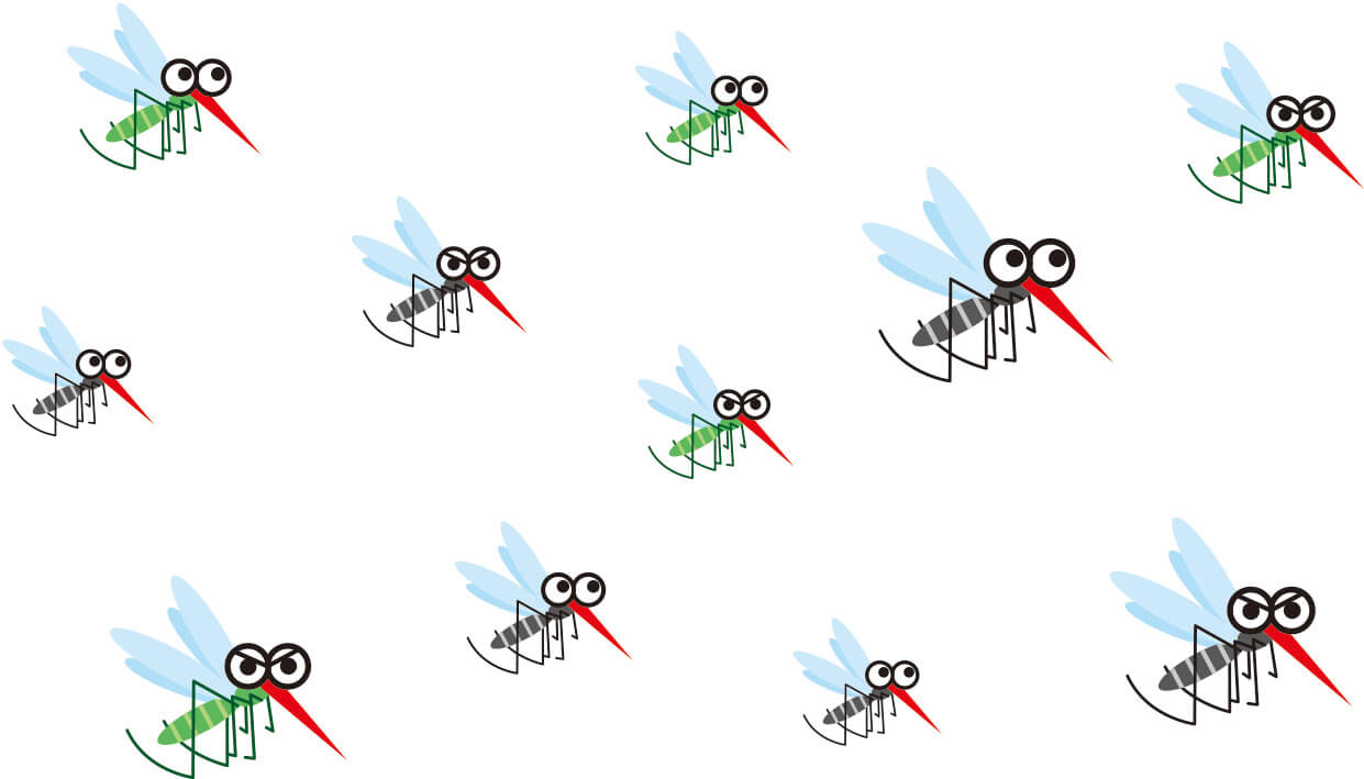 蚊 大量発生