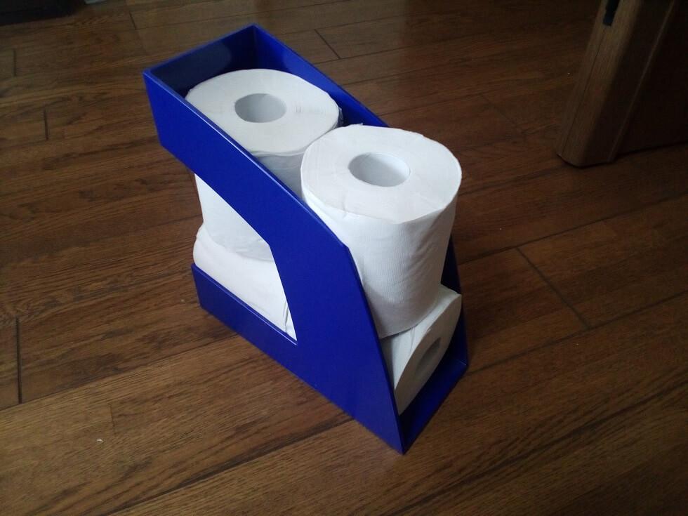 トイレットペーパー収納カゴ02
