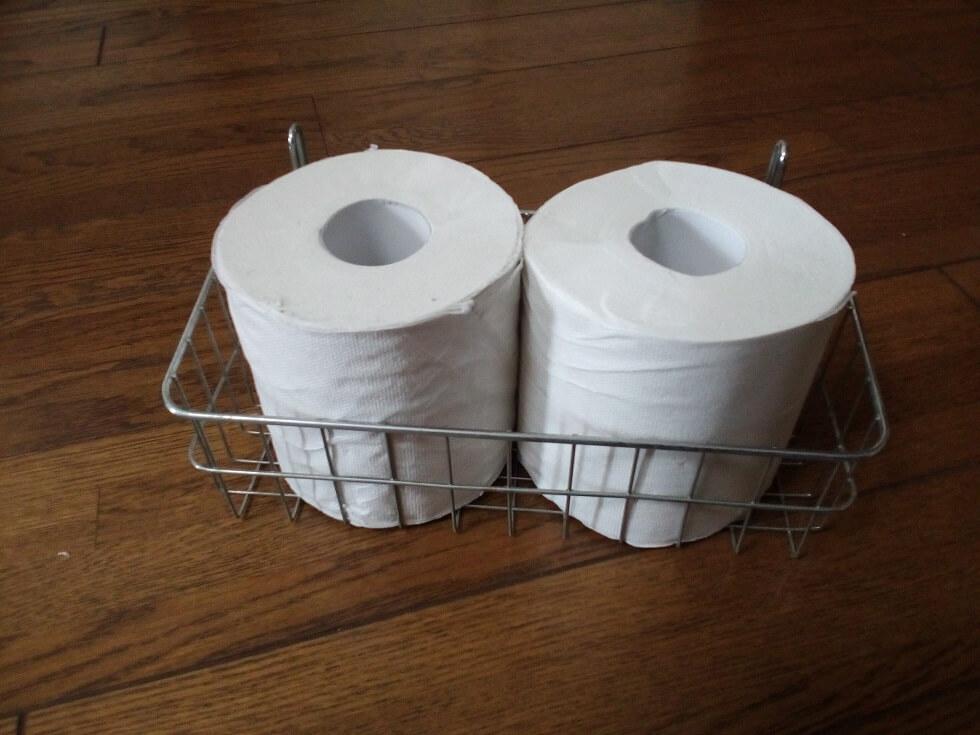 トイレットペーパー収納カゴ03