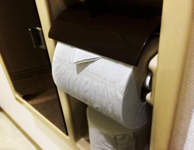 トイレットペーパー 折り方 三角